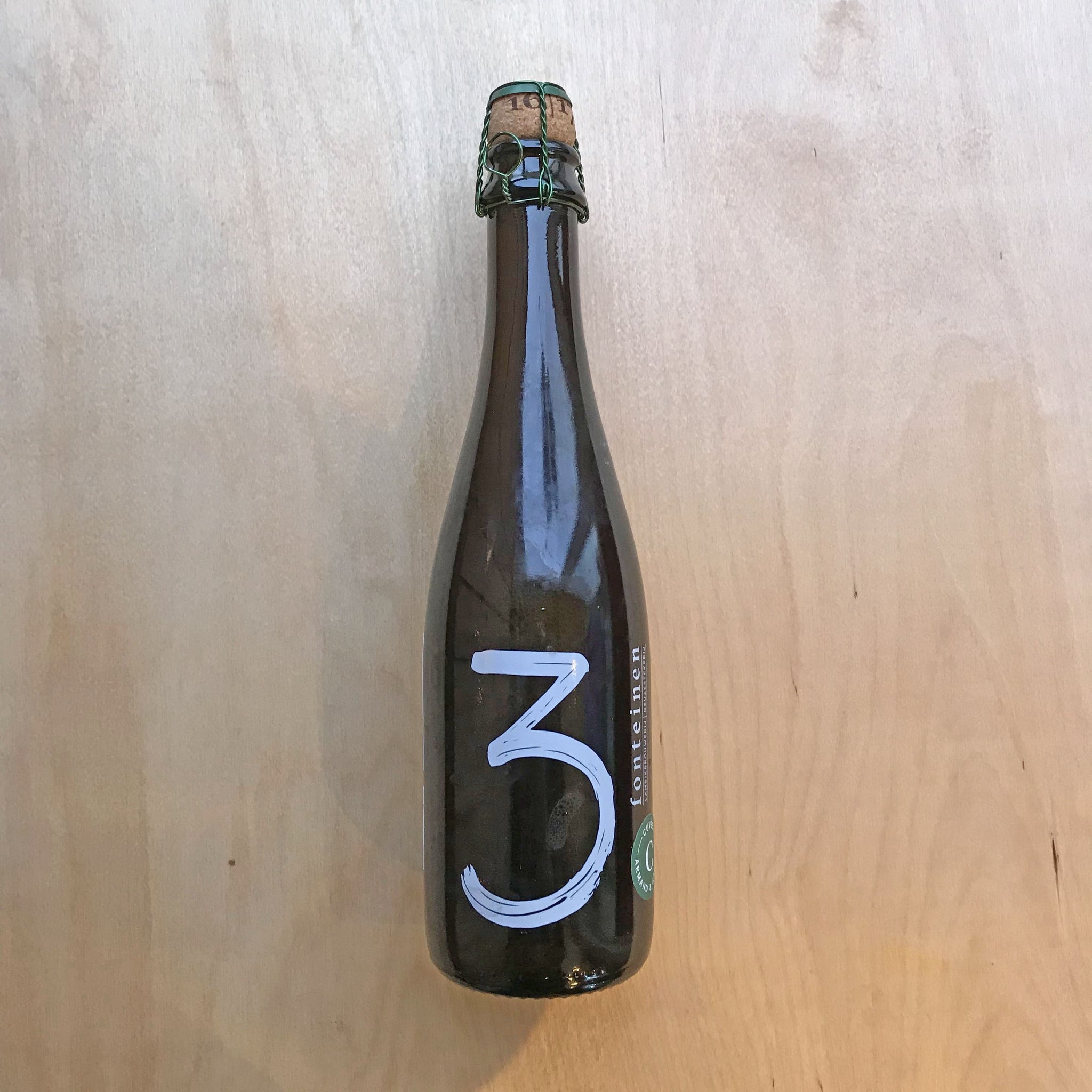 3 Fonteinen Cuvee Armand & Gaston 2017 5.4% (375ml)