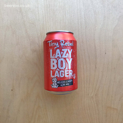 Tiny Rebel - Lazy Boy Lager 4.3% (330ml)