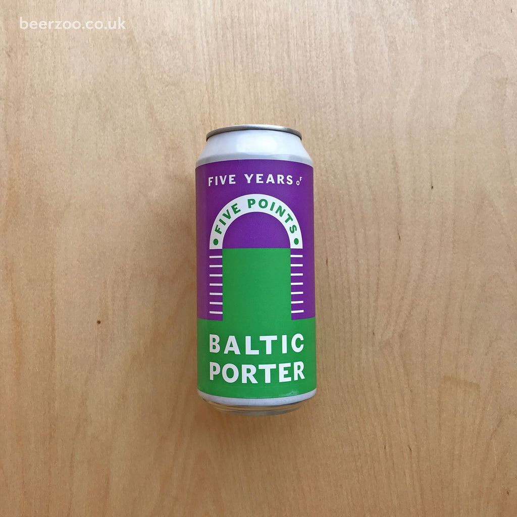 Five Points / YellowBelly Baltic Porter 8.4% (440ml)