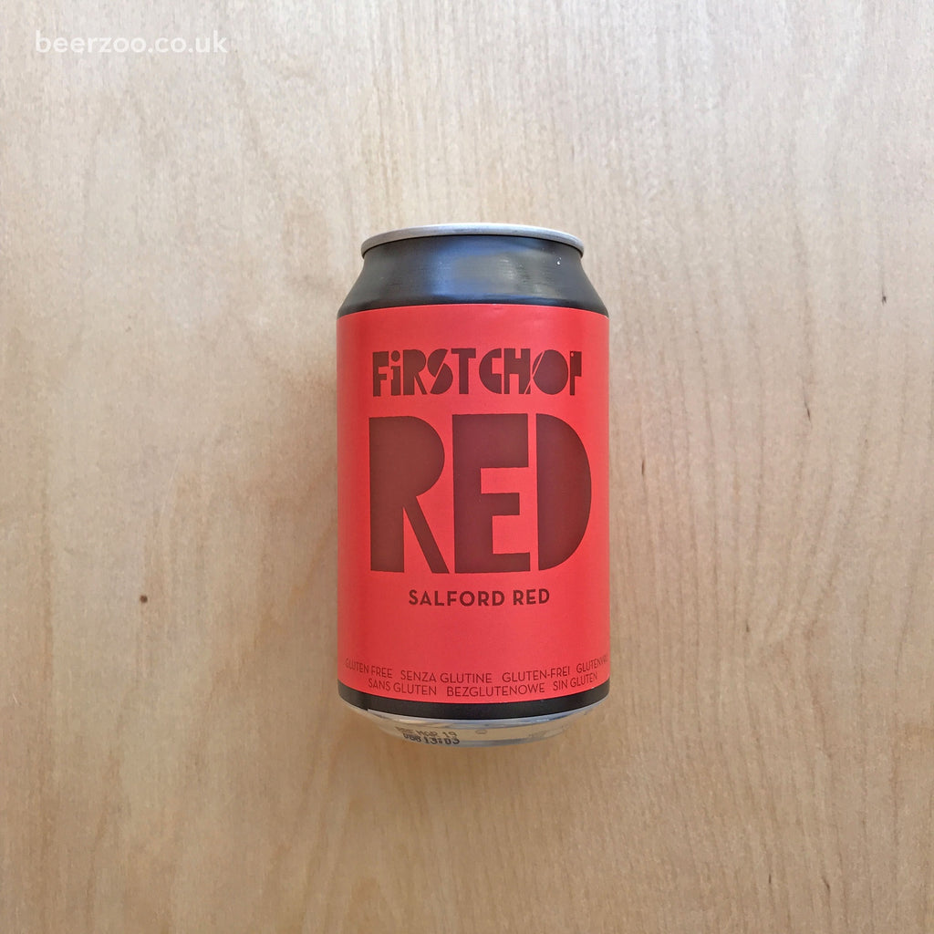 First Chop Red 4.6% (330ml)