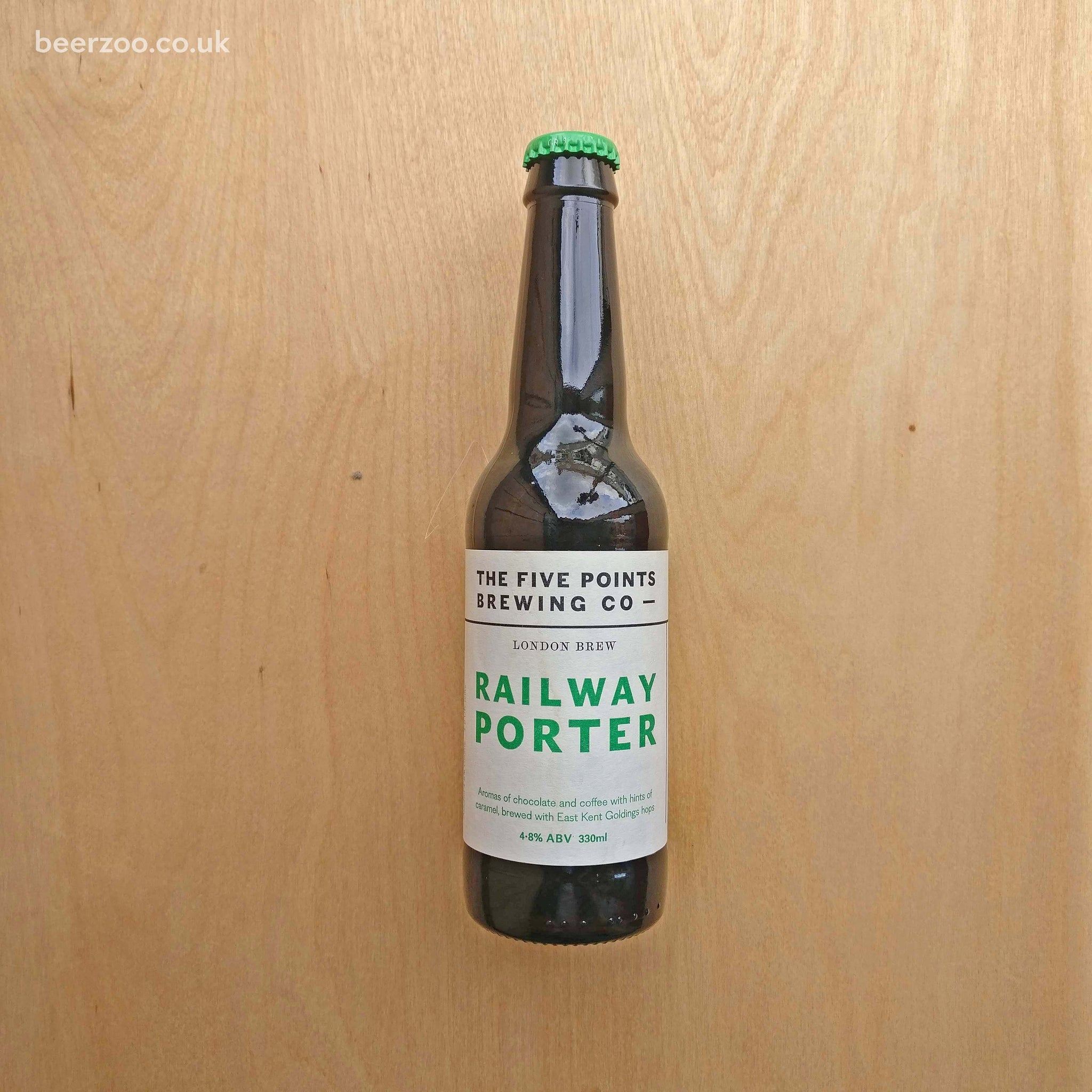 Five Points - Railway Porter 4.8% (330ml)