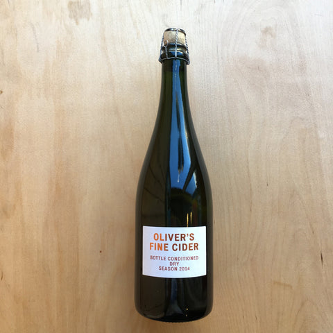 Oliver's - Bottle Conditioned Dry Cider 4.7% (750ml)