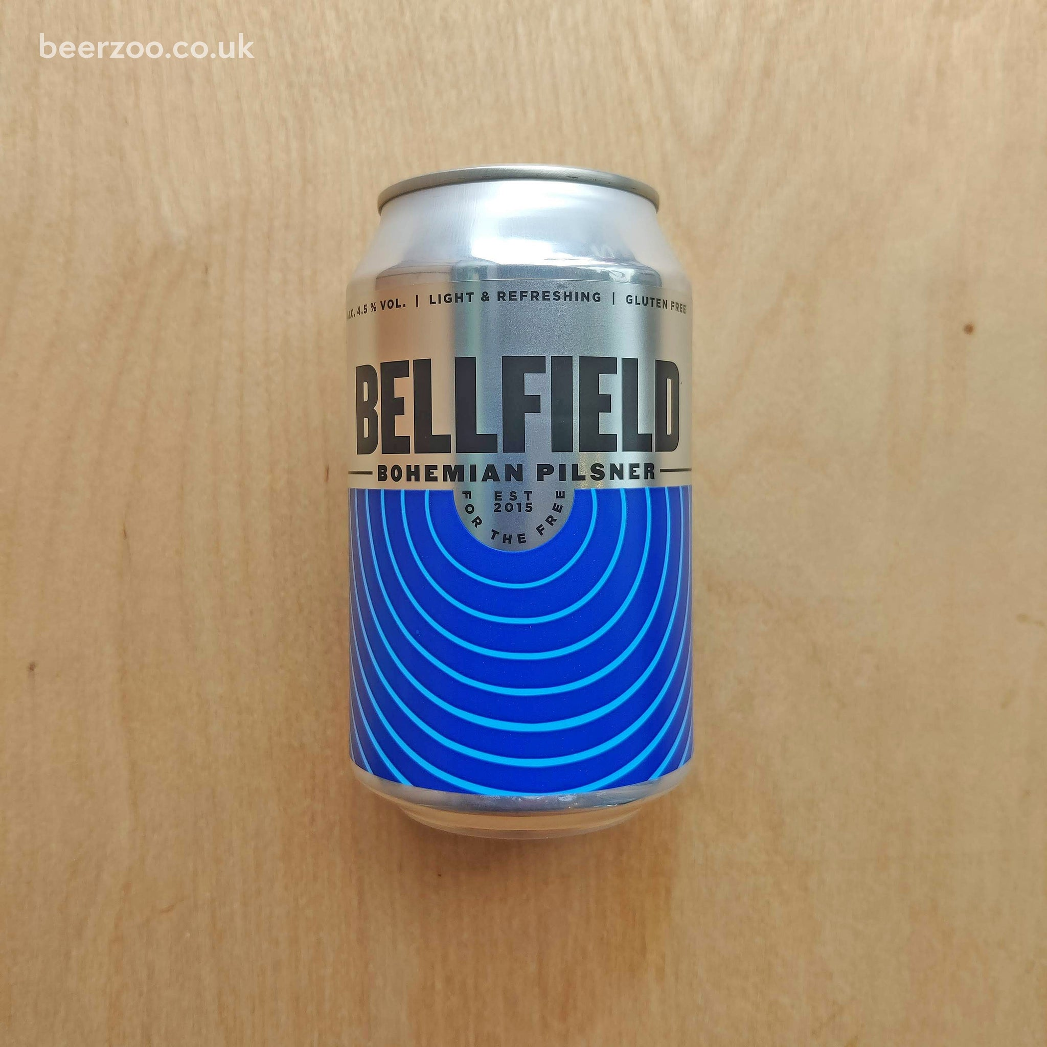 Bellfield - Bohemian Pilsner Can 4.5% (330ml)