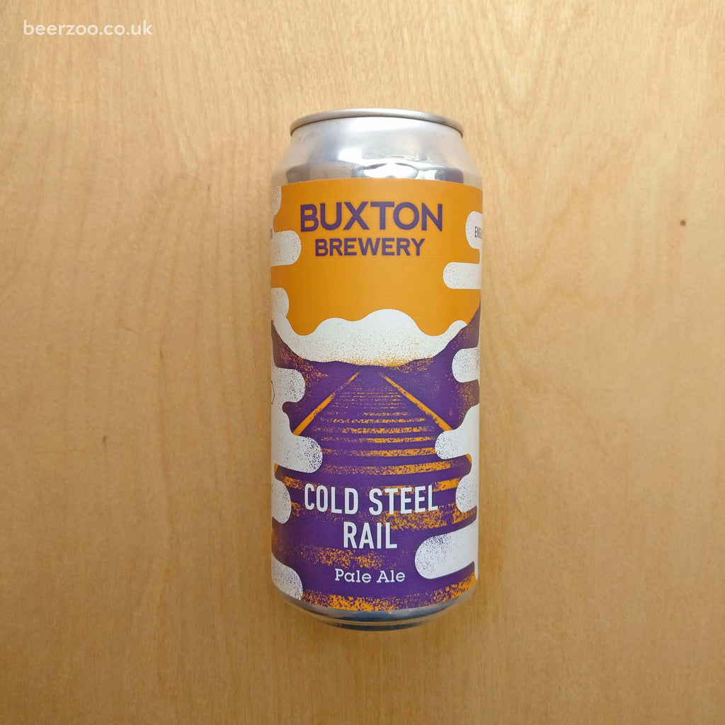Buxton / Track - Cold Steel Rail 5.5% (440ml)