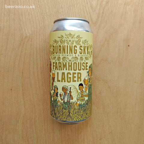 Burning Sky - Farmhouse Lager 4.8% (440ml)