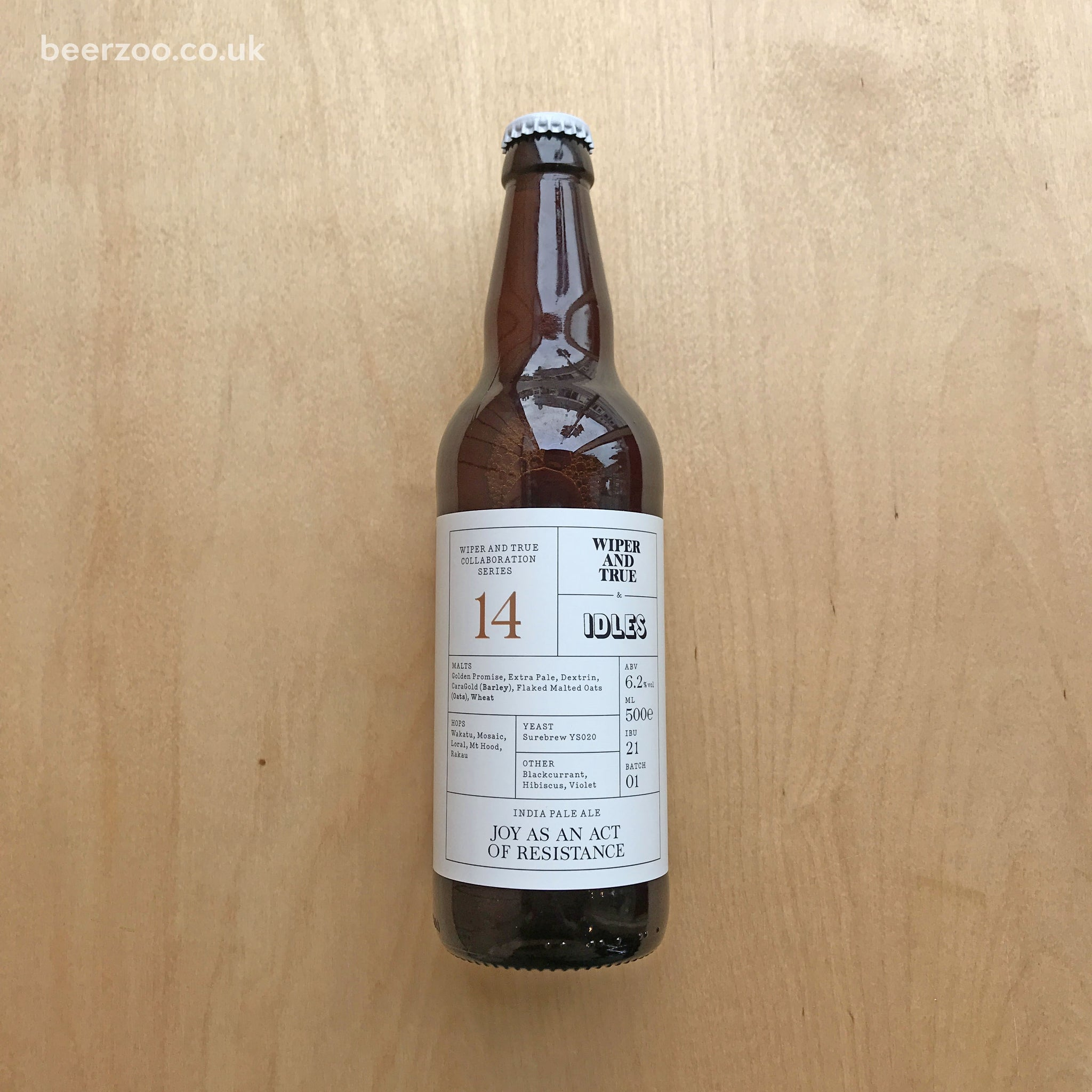 Wiper & True / IDLES - Joy as an Act of Resistance 6.2% (500ml)
