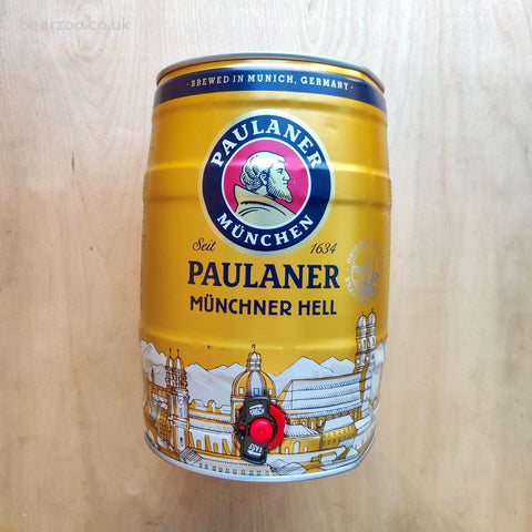 Paulaner Munich Hell Mini Keg (Shipping Paid) 4.8% (5L)
