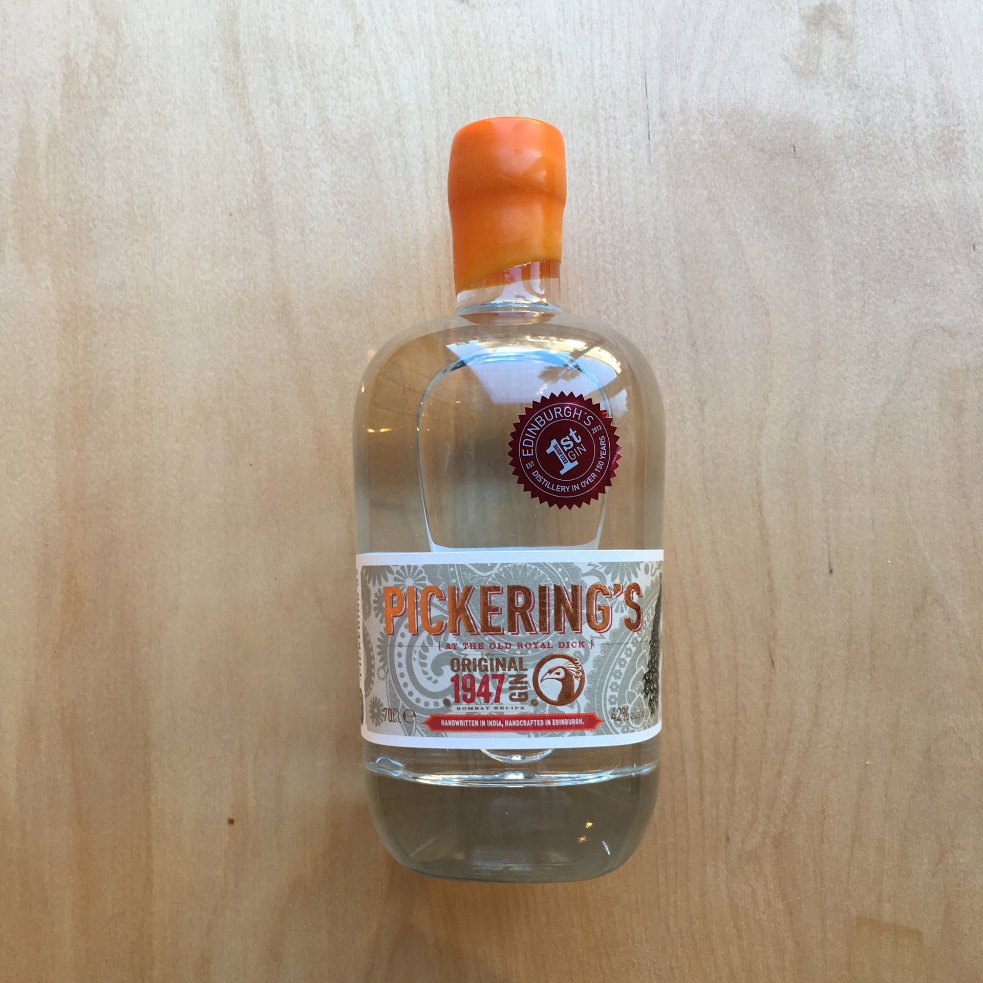 Pickering's Gin 1947 42% (700ml)