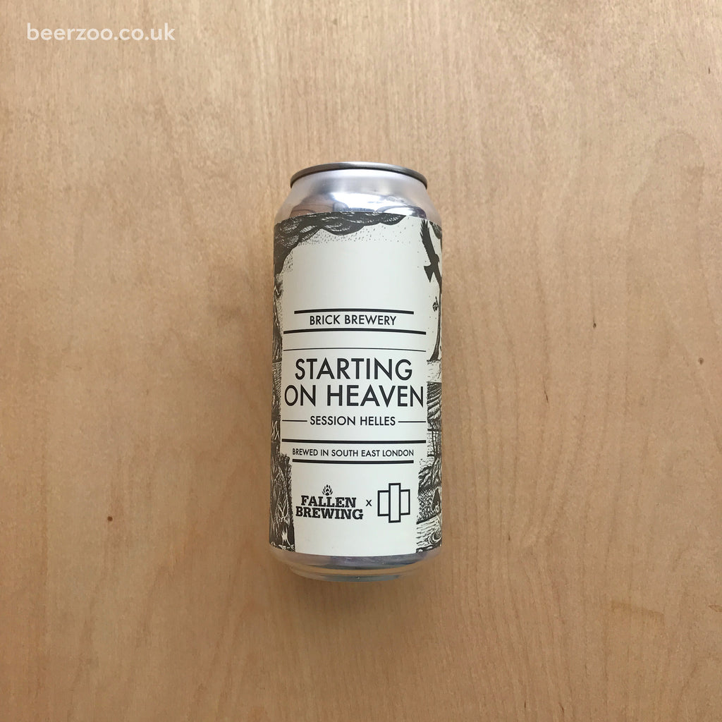 Brick / Fallen - Starting on Heaven 3.8% (440ml)