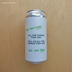 Cloudwater - All The Things They Say, Tell Us All The Things They Are 5.5% (440ml)