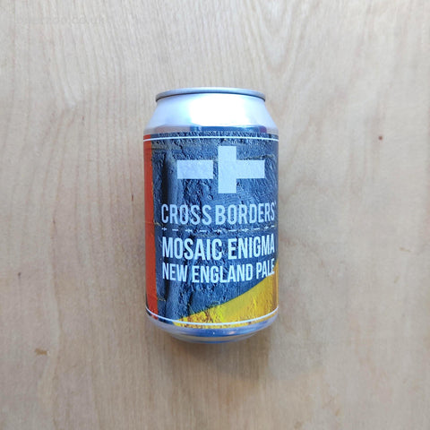 Cross Borders - Mosaic Enigma NEPA 4.3% (330ml)