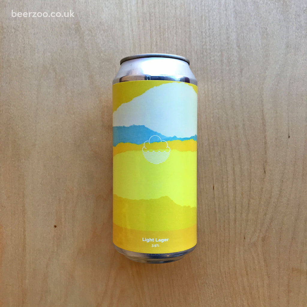 Cloudwater Light Lager 3.9% (440ml)