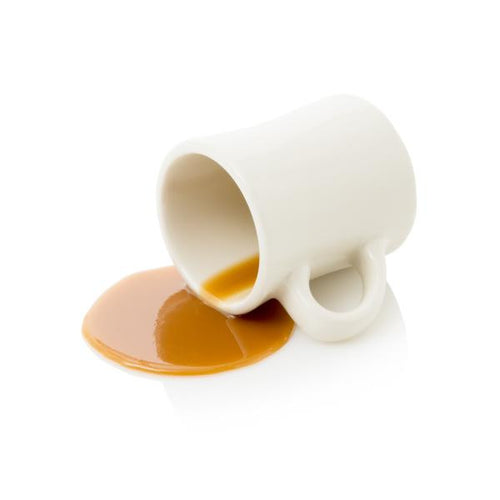 FAKE SPILLED COFFEE CUP