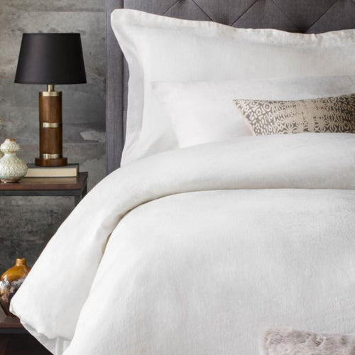French Linen Duvet Set by Malouf