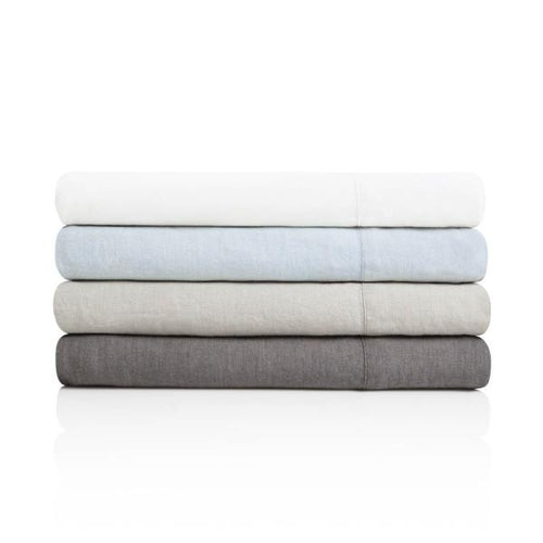 French Linen sheets by Malouf