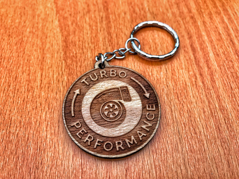 Turbo Performance Keychain