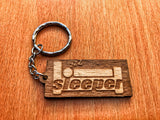 Sleeper Keychain