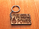 Sweating Power Keychain