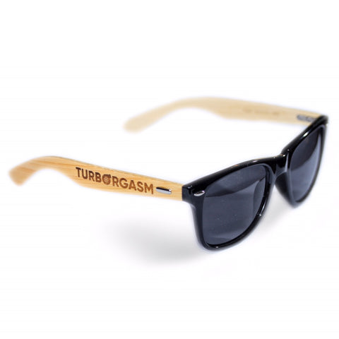 Turborgasm Bamboo Sunglasses