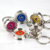 Colorful BBS Style Wheel Keychain