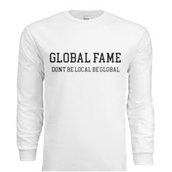 DONT BE LOCAL BE GLOBAL Long Sleeve
