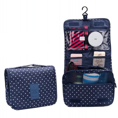 Portable Travel Hanging Cosmetic Bag
