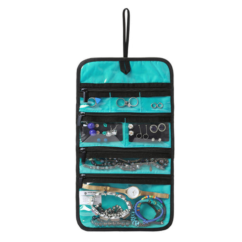BAGSMART Hanging Travel Jewelry Roll