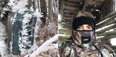 Saskatchewan Hunt: I was sitting all day in my IWOM
