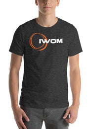 IWOM Outerwear LLC Dark Grey Heather / XS IWOM Logo T-Shirt