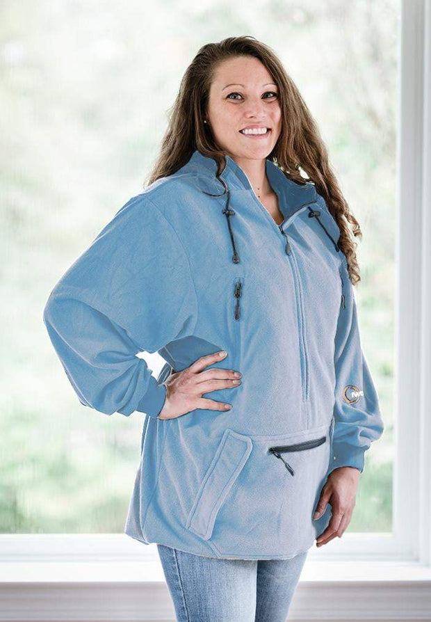 IWOM Outerwear LLC Fleece Light Blue / 5&