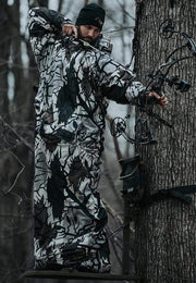 "IWOM Outerwear LLC Hunting Suit Predator Fall Gray / 6'2""-6'6"" / XL-2XL PS: IWOM XT Hunting System"