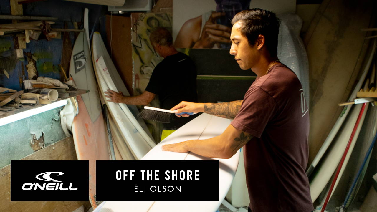 HAWAII LIVE | OFF THE SHORE: BOARD PAINTING WITH ELI OLSON