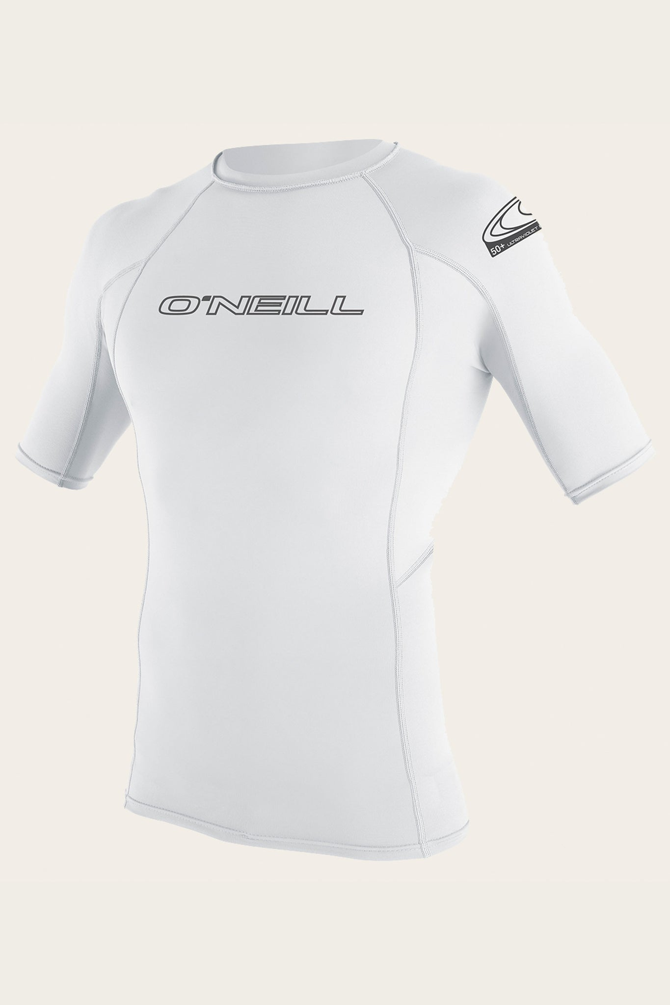 Basic Skins 50+ S/S Rash Guard - White | O'Neill