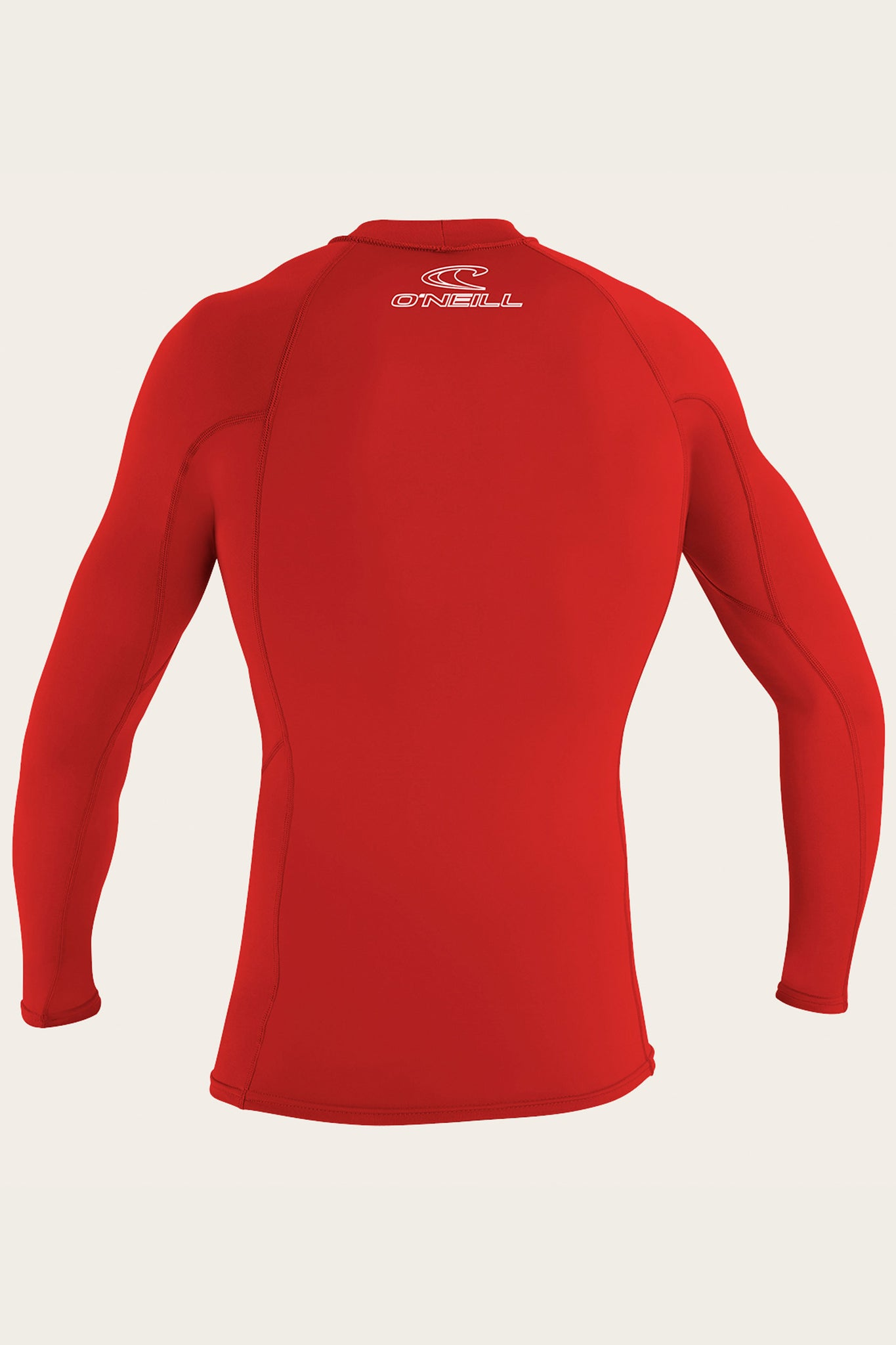 Basic Skins 50+ L/S Rash Guard - Red | O'Neill