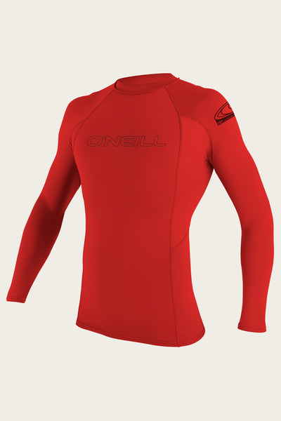 YOUTH BASIC SKINS 50+ L/S RASH GUARD