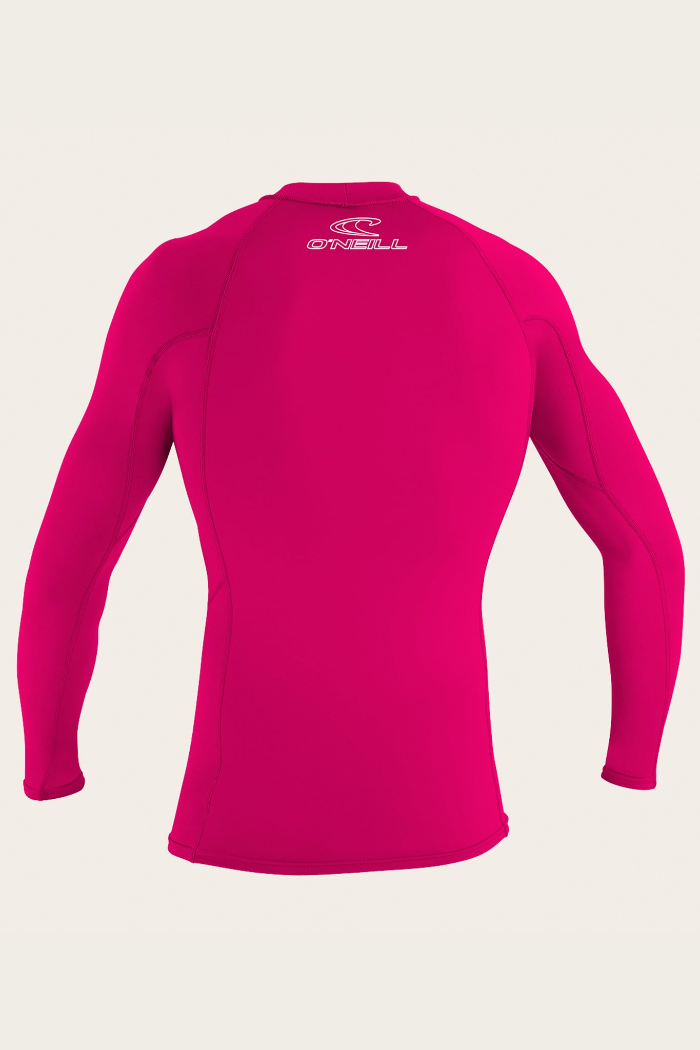 Youth Basic Skins 50+ L/S Rash Guard - Watermelon | O'Neill