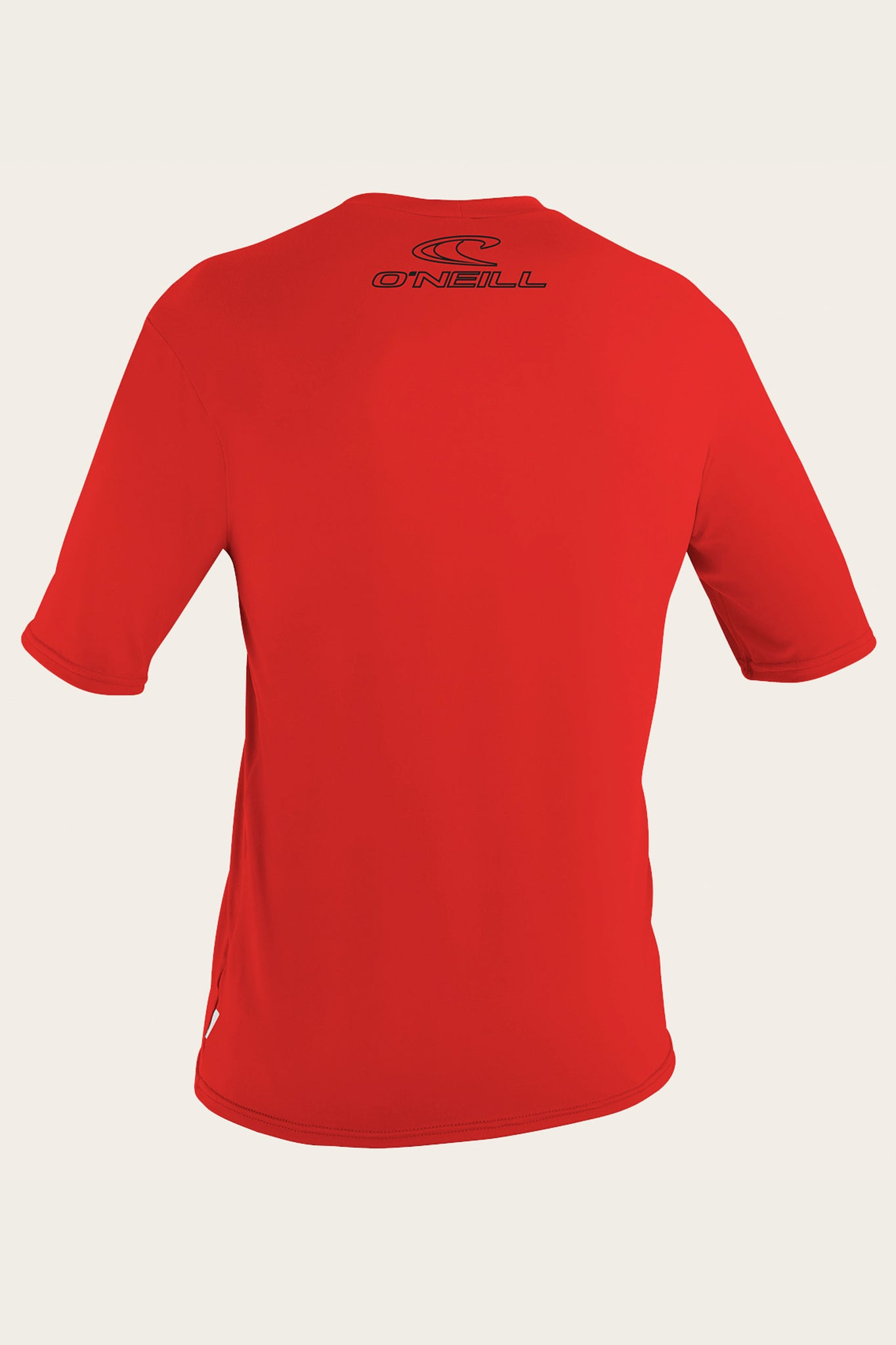 Basic Skins 50+ S/S Sun Shirt - Red | O'Neill
