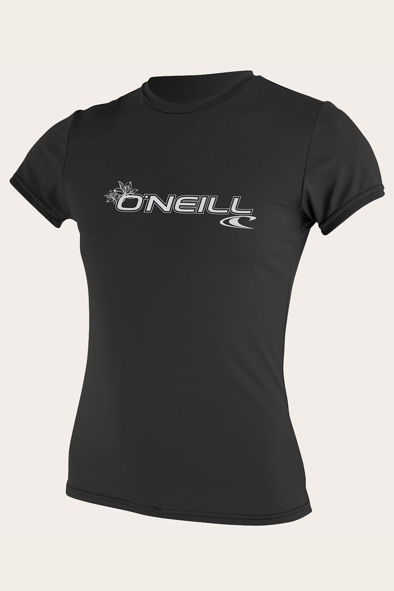 Women'S Basic S/S Sun Shirt - Black | O'Neill