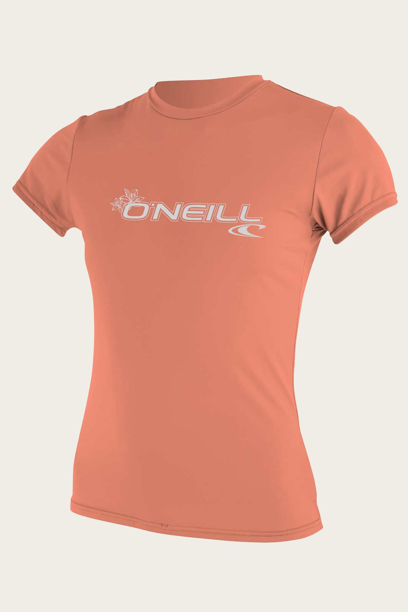 Women's Basic S/S Sun Shirt - Past Season - Lt Grpfrt | O'Neill