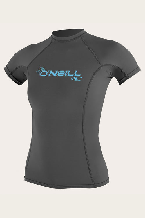 WOMEN'S BASIC S/S RASH GUARD