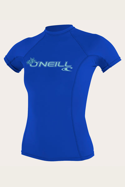 WOMEN'S BASIC 50+ S/S RASH GUARD