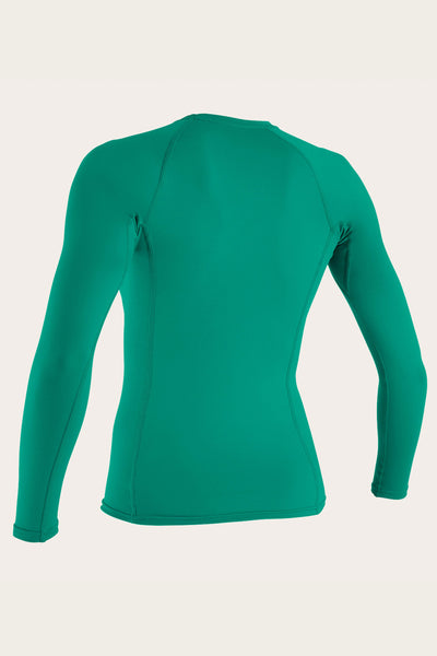 WOMEN'S BASIC 50+ L/S RASH GUARD