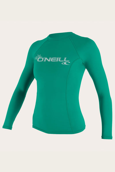 Women'S Basic 50+ L/S Rash Guard | O'Neill Clothing USA