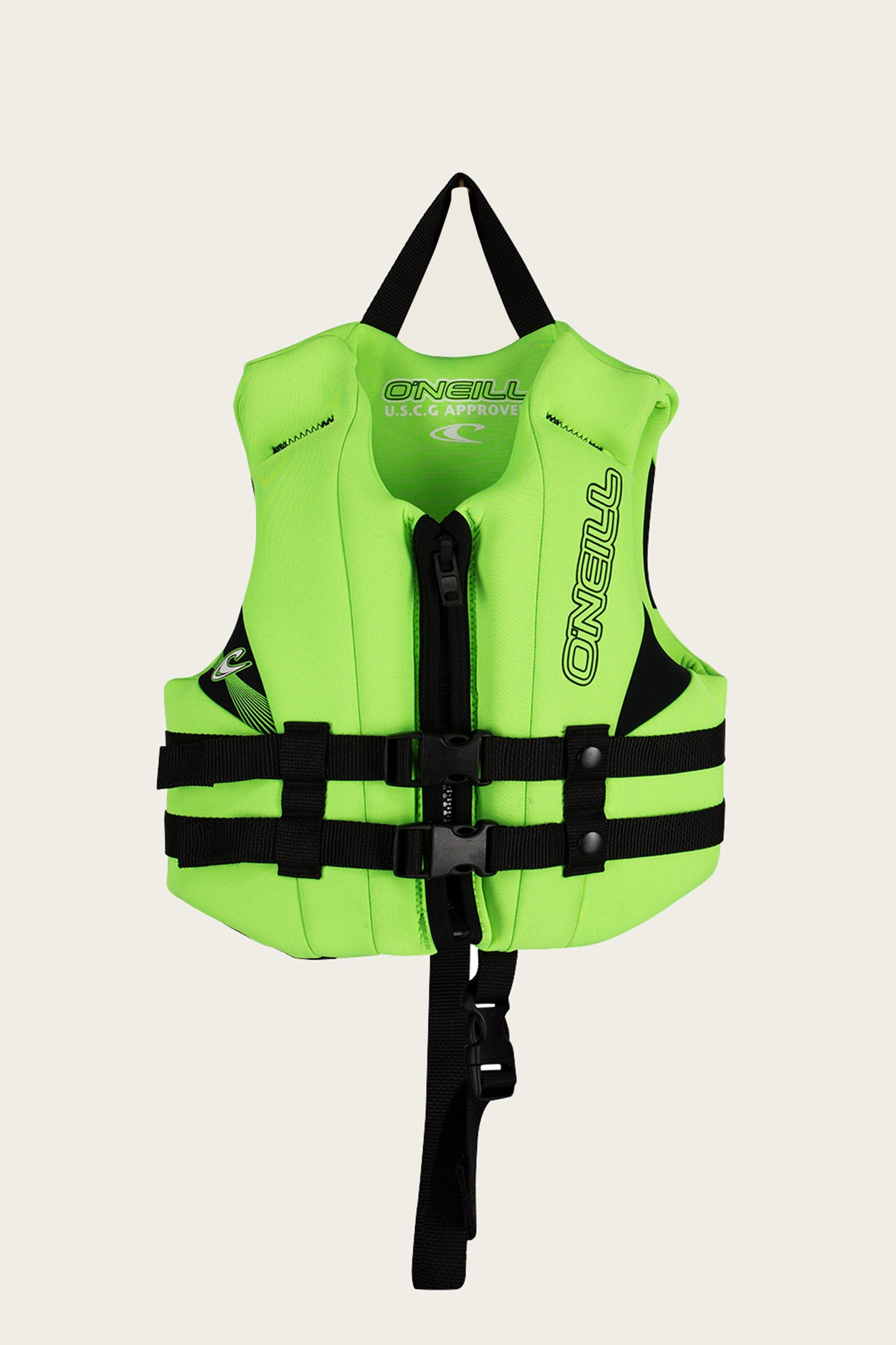 Child Reactor Uscg Vest - Dglo/Dglo/Blk | O'Neill