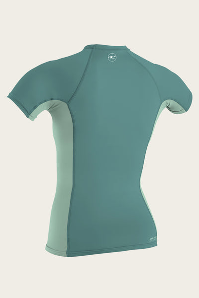 WOMEN'S PREMIUM SKINS S/S RASH GUARD