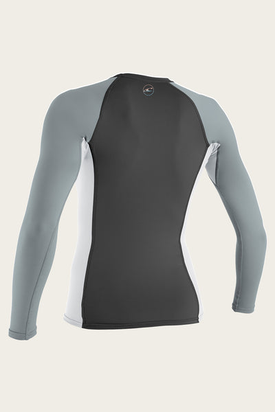 WOMEN'S PREMIUM SKINS L/S RASH GUARD