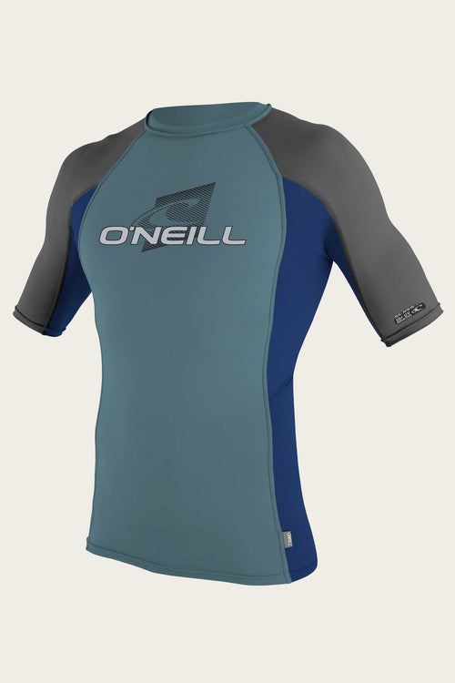 YOUTH PREMIUM SKINS S/S RASH GUARD