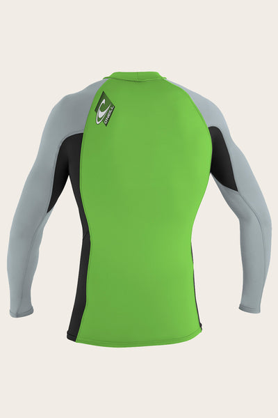 YOUTH PREMIUM SKINS L/S RASH GUARD