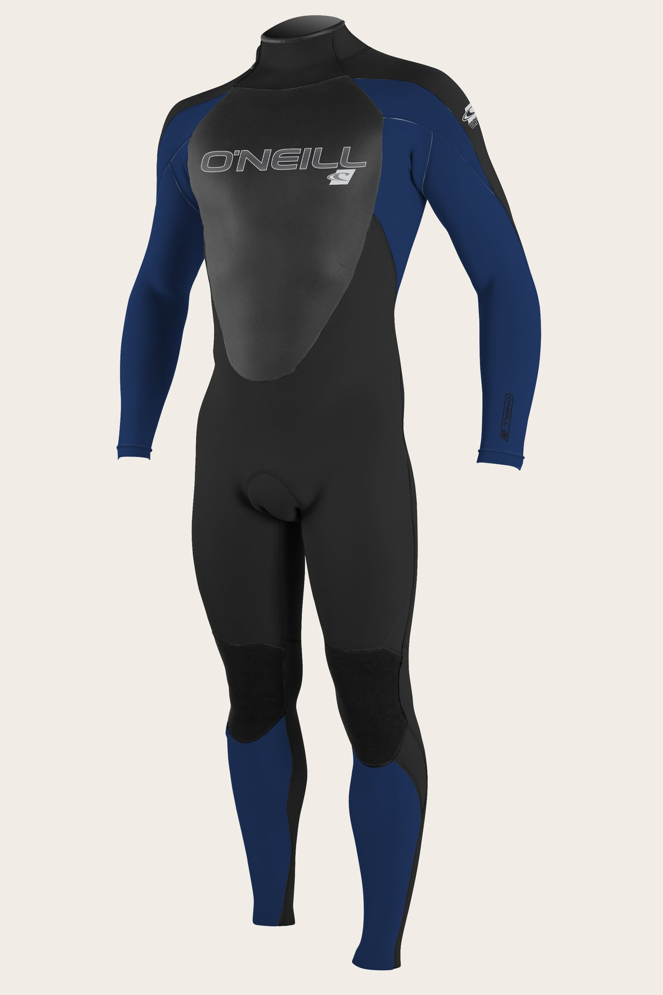 Epic 3/2Mm Back Zip Full Wetsuit - Blk/Navy/Blk | O'Neill