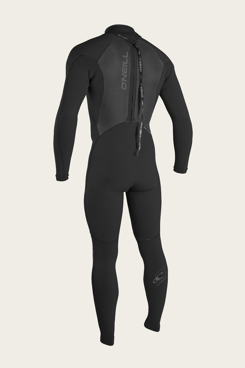 Epic 4/3Mm Back Zip Full Wetsuit - Blk/Blk | O'Neill